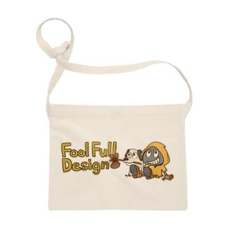 fool&dog ロゴカラー サコッシュ