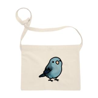 Chubby Bird サザナミインコ ブルー Sacoches