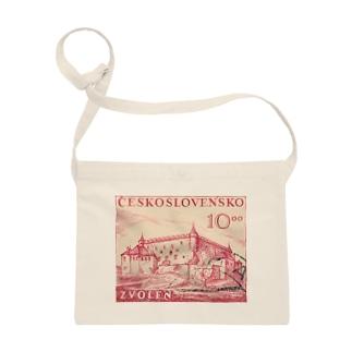 チェコスロバキアの切手 サコッシュ