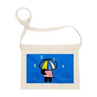 雨の日のクローネちゃん Sacoches