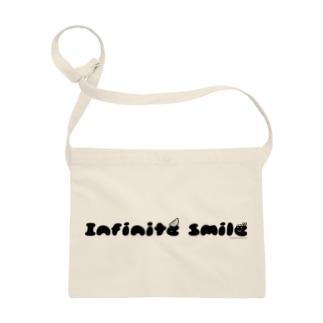 infinite smile(ねじり:黒) Sacoches