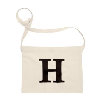 alphabet-simple:serif-H Sacoches