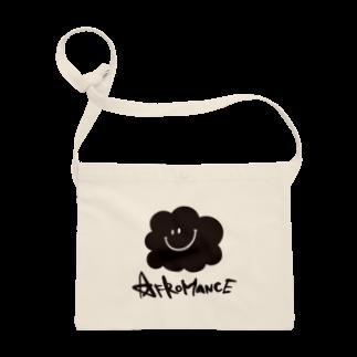 AFROMANCEのアフロマンス・ロゴサコッシュ