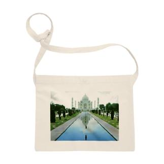 インド:タージ・マハル India: ताज महल Taj Mahal/ आगरा Agra サコッシュ