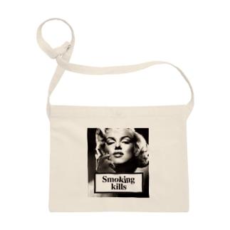 Smoking Kills Sacoches
