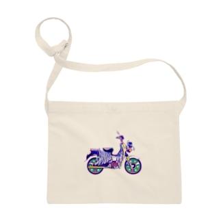 シマウマバイク Sacoches