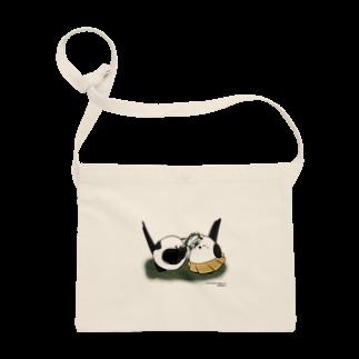 シマエナガの「ナガオくん」公式グッズ販売ページのナガオくんとシマエちゃん サコッシュ