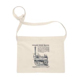 ポータブル蒸気機関の広告 - The British Library Sacoches