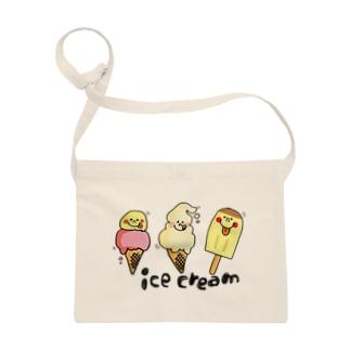 アイスクリーム サコッシュ