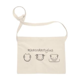 Rhacodautylus Face(黒) Sacoches