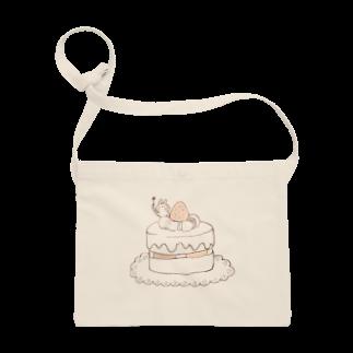 *momochy shop*のケーキとうさぎ Sacoches