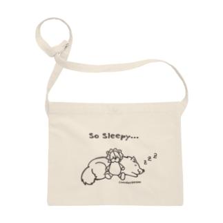 So Sleepy 眠たいワンコ Sacoches