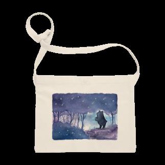 Rosemary*Teaの星降る森のくまさん Sacoches