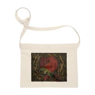 森の赤い竜 Sacoches