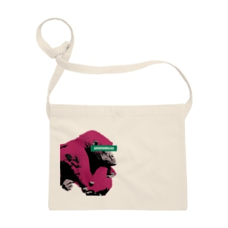 Gorilla thinks Logo (Red) Sacoches