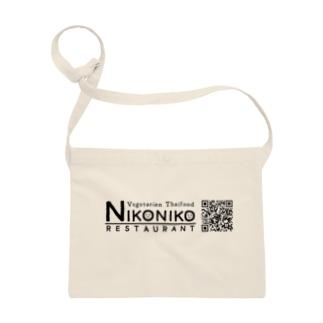 nikonikoQRグッズ(黒) Sacoches