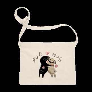 裏ひぐちのPUG ❤︎ HUG Sacoches