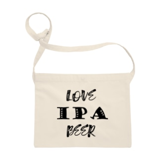 love IPA beer [Black] サコッシュ