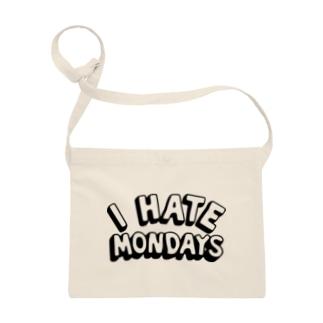 I HATE MONDAYS サコッシュ