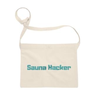 サウナハッカー ロゴ Sacoches