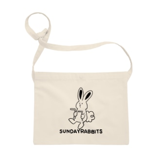 Sunday Rabbits - Dowsing らくがきフォント- Sacoches