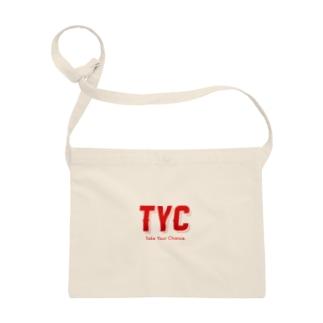 TYCスポーティーロゴ赤 Sacoches