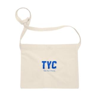 TYCスポーティーロゴ青 Sacoches
