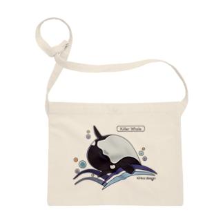 シャチ_海洋生物(うみのいきもの) サコッシュ