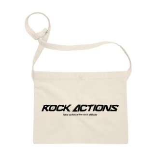 ROCK ACTIONS logo series 1 Sacoches