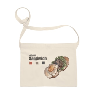 ロコモコ風オープンサンドイッチ Sacoches