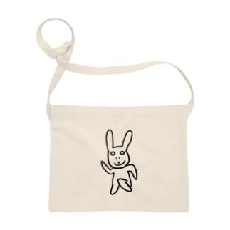 2分で描いたウサギ Sacoches