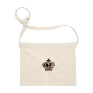 ビーズ刺繍 王冠 Sacoches