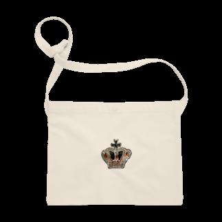uiuiuiuのビーズ刺繍 王冠 Sacoches