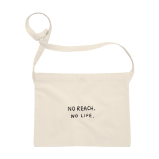 No Reach, No Life. サコッシュ