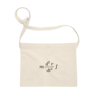 ニュートンの運動方程式 Sacoches