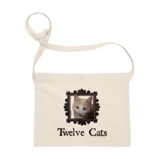 カフェラテ色の猫 Sacoches