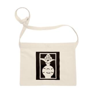 Brain Crafts_kirigami #01(white) Sacoches