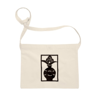 Brain Crafts_kirigami #01(black) Sacoches
