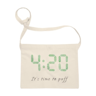 """420 """"It's time to puff"""" アイテム Sacoches"""