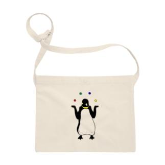 ジャグラーペンギン1 動物イラスト Sacoches