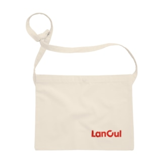 LanCulグッズ(ロゴ赤) Sacoches