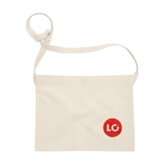 LanCulグッズ(ロゴ赤丸) Sacoches