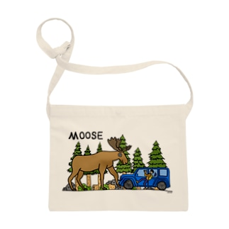 ヘラジカ moose (カラー) Sacoches