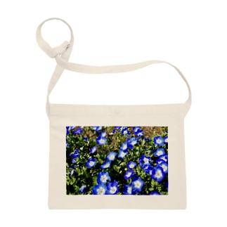 幸せの青い花 Sacoches