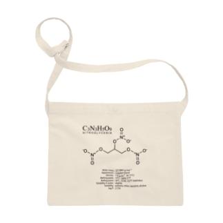 ニトログリセリン:爆発・爆薬:化学:化学構造・分子式 Sacoches