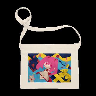 銀猫@絵垢+ご依頼受付中のプレゼントと女の子 Sacoches