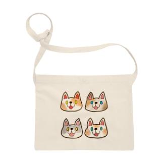 福こい猫4匹 Sacoches