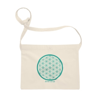 flower of life A Sacoches