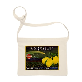 Lemon crate label, Comet brand, Western Litho. Co . Sacoches