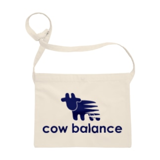 cow balance(blue) Sacoches